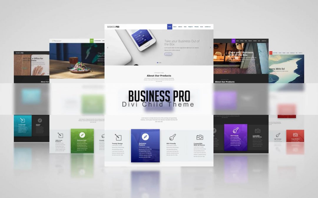 Business Pro V3: One Click Demo Import