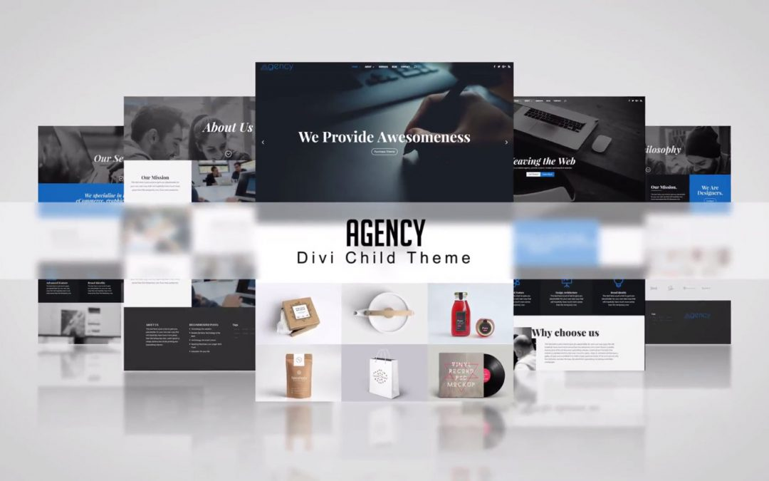 Divi Agency Child Theme: One Click Demo Import!