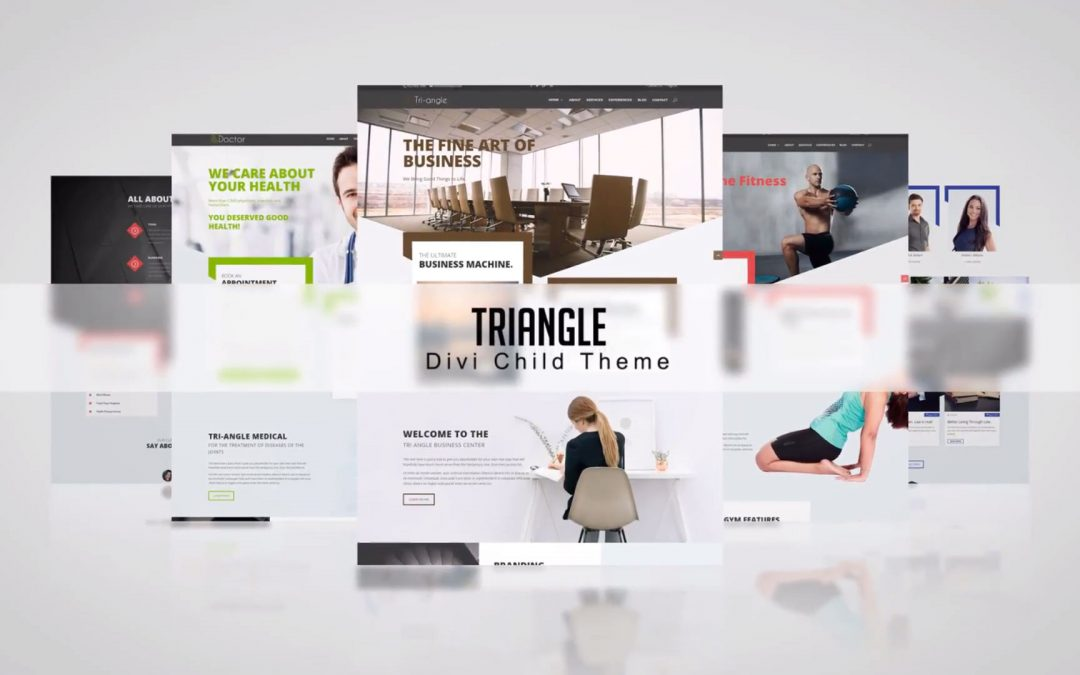 Divi Triangle Child Theme: One Click Demo Import!