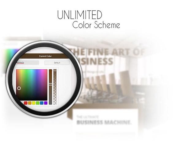 Unlimited Color Scheme!