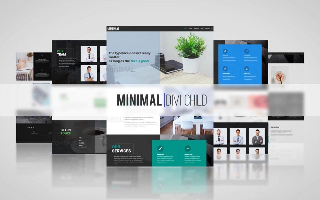 Minimal Theme One Click Demo Import!