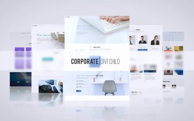 Corporate Theme One Click Demo Import!