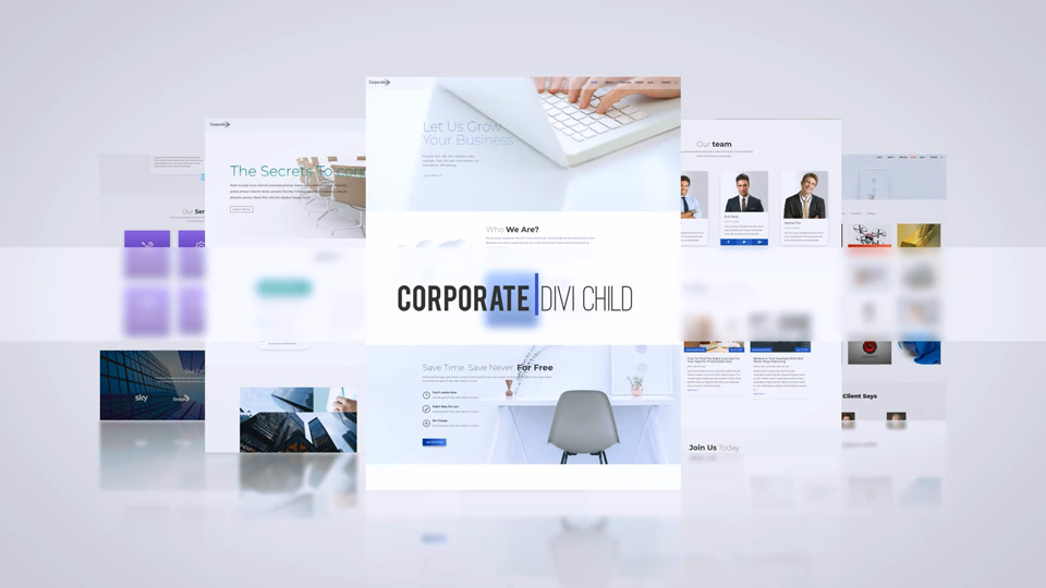 Corporate Theme One Click Demo Import!
