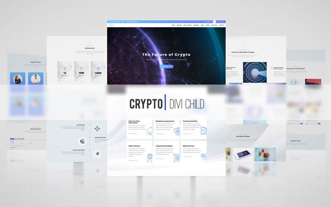 Crypto Theme One Click Demo Import!